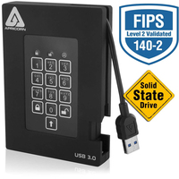 Apricorn Aegis Padlock Fortress 1000GB Black