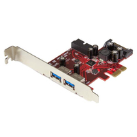 StarTech.com PEXUSB3S2EI Internal SATA,USB 3.0 interface cards/adapter