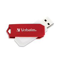 Verbatim Store 'n' Go® Swivel USB Drive - 32GB 32GB USB 2.0 Type-A Red USB flash drive