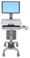 "Ergotron WorkFit C-Mod, Single Display Sit-Stand Workstation 22"" Grey"