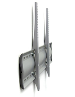 "Ergotron WM Low Profile Wall Mount, XL 65"" Silver"