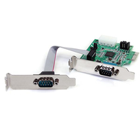 StarTech.com 2-Port PCI-E Serial Card interface cards/adapter
