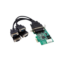 StarTech.com 4-Port PCI-E Serial Card interface cards/adapter