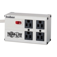 Tripp Lite IBAR4 4AC outlet(s) 120V 1.8m White surge protector