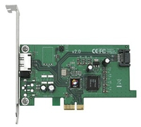 Siig eSATA II PCIe i/e Adapter eSATA interface cards/adapter