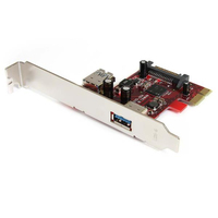 StarTech.com 2 port PCI Express SuperSpeed USB 3.0 Card USB 3.0 interface cards/adapter