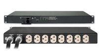 Eaton PWATSS520003 8AC outlet(s) 1U Black power distribution unit (PDU)