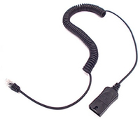 Plantronics 38232-01 4m Black telephony cable