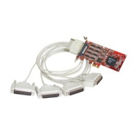 Comtrol RocketPort EXPRESS Quadcable DB25M interface cards/adapter