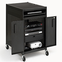 Bretford TC15-BK Multimedia cart Black multimedia cart/stand