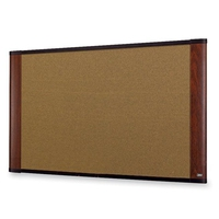 3M C7248LC Corkwood Brown bulletin board