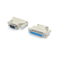 StarTech.com Adapter DB9M - DB25F Beige cable interface/gender adapter