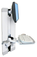 "Ergotron StyleView Vertical Lift, Patient Room 24"" White"