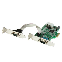 StarTech.com PEX2S553LP interface cards/adapter