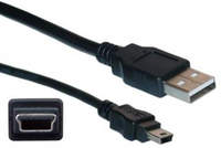 Cisco CAB-CONSOLE-USB 1.83m USB A Mini-USB B Male Male Black USB cable