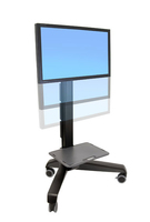 Ergotron Neo-Flex Mobile MediaCenter LD Flat panel Multimedia cart Black