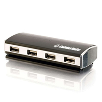 C2G 4-Port USB 2.0 Aluminum Hub 480Mbit/s interface hub