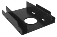 "Siig SC-SA0H12-S1 2.5/3.5"" Bezel panel Black drive bay panel"