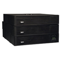 Tripp Lite SmartOnline Double-conversion (Online) 6000VA 16AC outlet(s) Rackmount Black uninterruptible power supply (UPS)