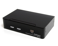 StarTech.com SV231DVIUA Black KVM switch