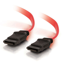 C2G 10191 0.15m Red SATA cable