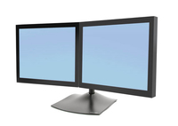 Ergotron DS Series DS100 Dual Monitor Desk Stand, Horizontal