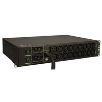 Tripp Lite PDUMH30HV 18AC outlet(s) 2U Black power distribution unit (PDU)
