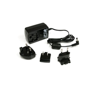 StarTech.com IM12D1500P Indoor Black power adapter & inverter