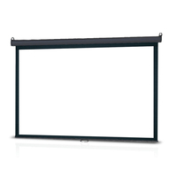 "Infocus SC-MAN-100 100"" 4:3 Black,White projection screen"