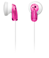 Sony MDR-E9LP Pink, White Intraaural In-ear headphone