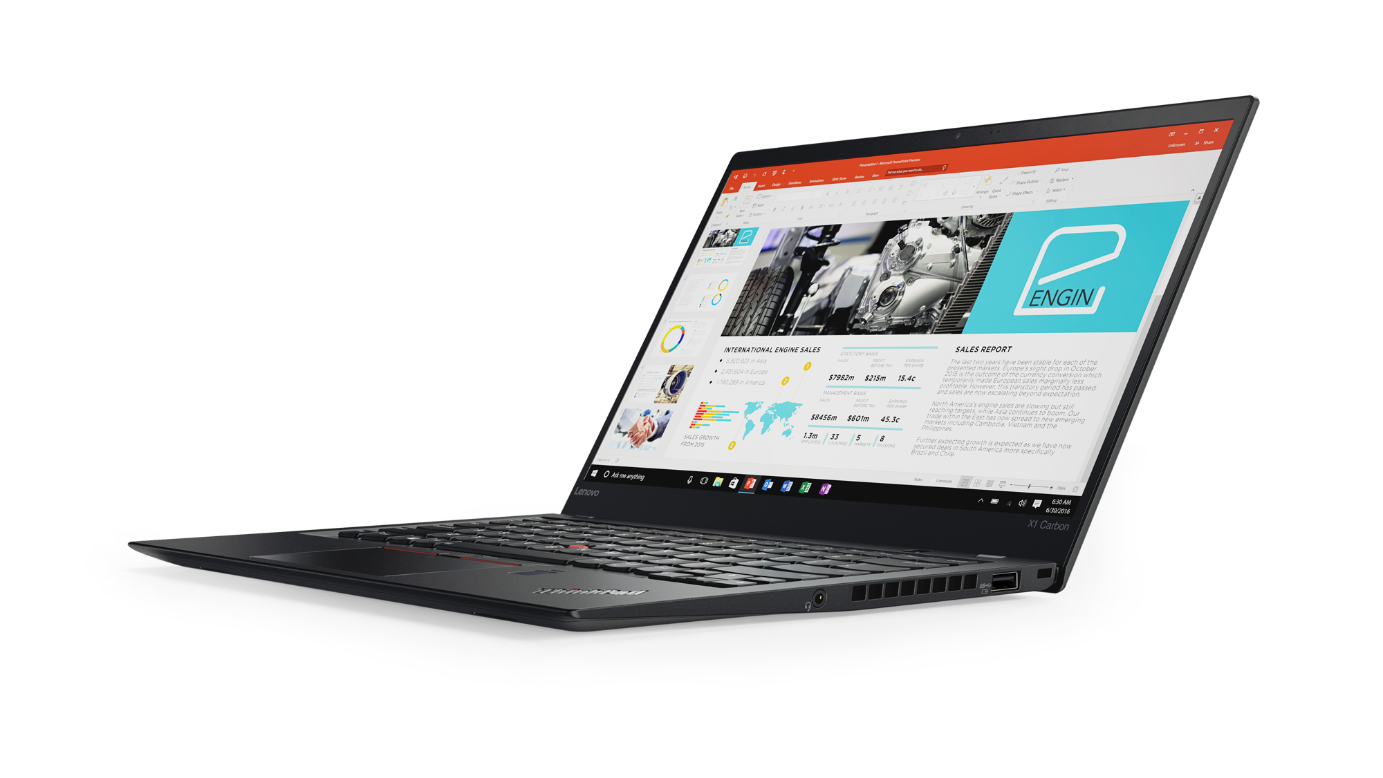 Lenovo ThinkPad X1 Carbon 2.70GHz i7-7500U 14