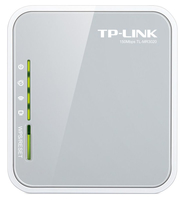 TP-LINK TL-MR3020 wireless router Single-band (2.4 GHz) Fast Ethernet 3G 4G Grey,White