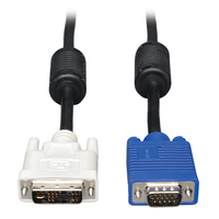 Tripp Lite P556-003 0.91m DVI-A VGA (D-Sub) Black,Blue,White video cable adapter