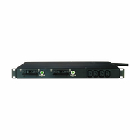 Eaton TPC2105-2 10AC outlet(s) 1U Black power distribution unit (PDU)