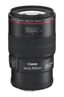Canon EF 100mm f/2.8L Macro IS USM SLR Macro lens Black