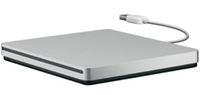 Apple USB SuperDrive DVD±R/RW Silver optical disc drive