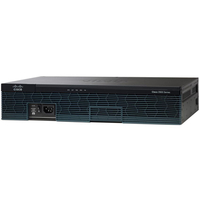 Cisco 2911 Ethernet LAN Black wired router