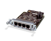 Cisco VIC3-4FXS/DID-RF FXS voice network module
