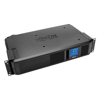 Tripp Lite SMART1500LCD Line-Interactive 1500VA 8AC outlet(s) Rackmount/Tower Black uninterruptible power supply (UPS)