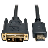 Tripp Lite P566-006 1.83m HDMI DVI-D Black video cable adapter