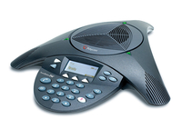 Polycom 2200-16155-001 Telephone Black speakerphone