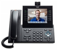 Cisco 9971 Charcoal Wired handset LCD IP phone