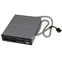 StarTech.com 35FCREADBK3 Internal USB 2.0/IDC Black card reader