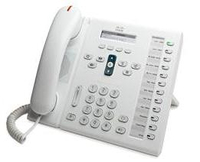 Cisco Unified 6961 Wired handset White IP phone