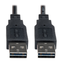 Tripp Lite UR020-006 1.83m USB A USB A Male Male Black USB cable