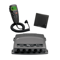 Garmin VHF 300i 10channels Black two-way radio