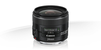 Canon EF 24mm f/2.8 IS USM MILC Wide lens Black