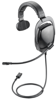 Plantronics SHR2082-01 Monaural Head-band Black headset