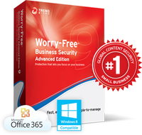 Trend Micro Worry-Free Business Security Advanced 51-250user(s) 1year(s)
