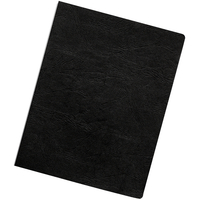 Fellowes 52146 Vinyl Black 50pcs binding cover